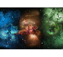 Skill Nebula - Skyrim Photographic Print