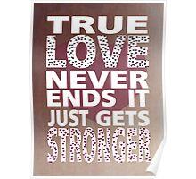 True Love Poster