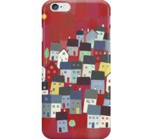 Red village iPhone Case/Skin