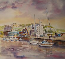 Dover marina by Beatrice Cloake