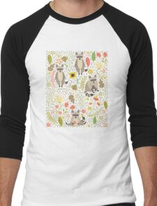 Raccoons Men's Baseball ¾ T-Shirt