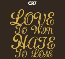 CR7 LoveHate - gold edition by HujCi WDupe
