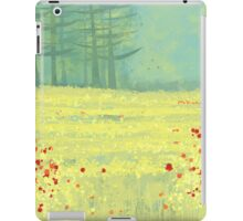 Meadow near Périgueux iPad Case/Skin