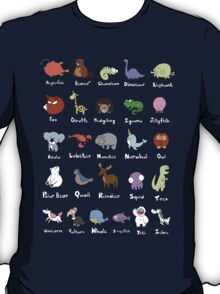 The Animal Alphabet T-Shirt