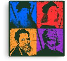 Renaissance Ninjas Canvas Print