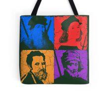 Renaissance Ninjas Tote Bag