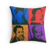 Renaissance Ninjas Throw Pillow