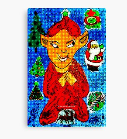 Evil Elf Canvas Print