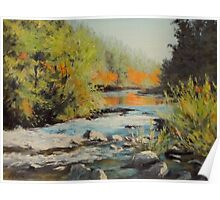 Swiftwater Autumn Poster