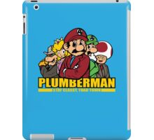 Plumber Man iPad Case/Skin