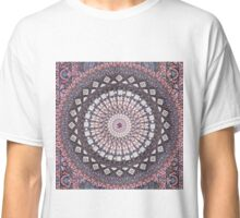 Om Mandala Lavender Classic T-Shirt