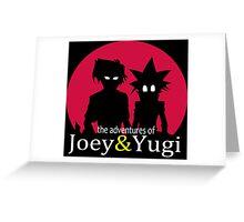 The adventures of Joey & Yugi Greeting Card