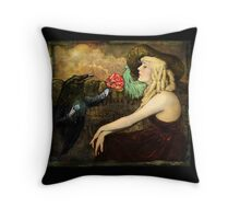 Gifts of the Raven Throw Pillow