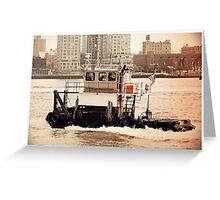 Helen Parker - Tugboat Greeting Card