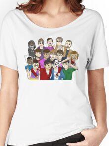 Banana Bus Crew Women's Relaxed Fit T-Shirt