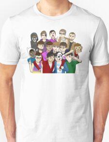 Banana Bus Crew Unisex T-Shirt
