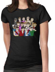 Banana Bus Crew Womens Fitted T-Shirt