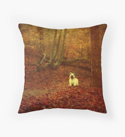 Hold On, I'm Coming... Throw Pillow