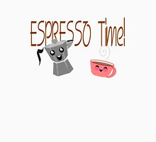 Espresso Time - Cute and Caffeinated. Womens Fitted T-Shirt