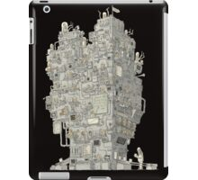 time machine concept iPad Case/Skin