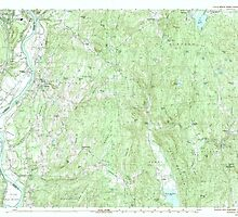 USGS TOPO Map New Hampshire NH Walpole 329918 1985 25000 by wetdryvac