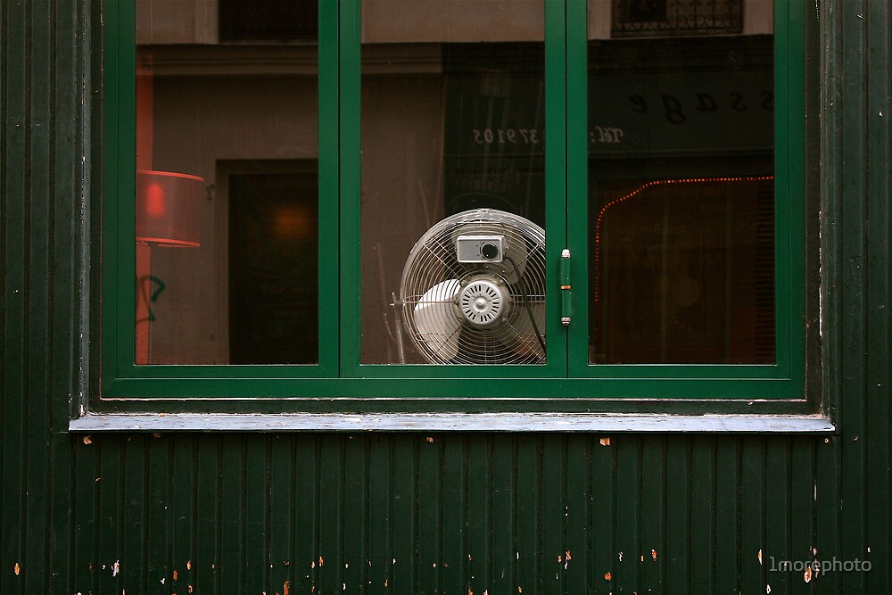 Self Portrait behind a Fan ........ by 1morephoto