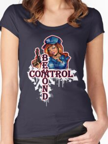 Yankee Babe Beyond Control Women's Fitted Scoop T-Shirt