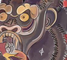 Conor McGregor Gorilla Tattoo! Sticker