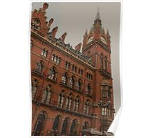 St Pancras Station Hotel Poster