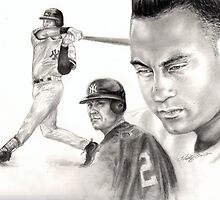 Derek Jeter by Kathleen Kelly-Thompson
