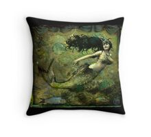 La Sirena Throw Pillow