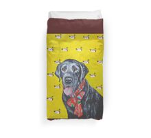 Black Lab Duvet Cover
