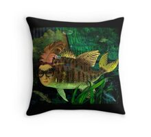 Museum of Wonders Throw Pillow