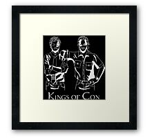 Rob and Rich - Kings of Con Framed Print