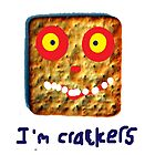 Crackers iPad Case by Steve