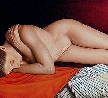 Sleeping Nude by horacio10