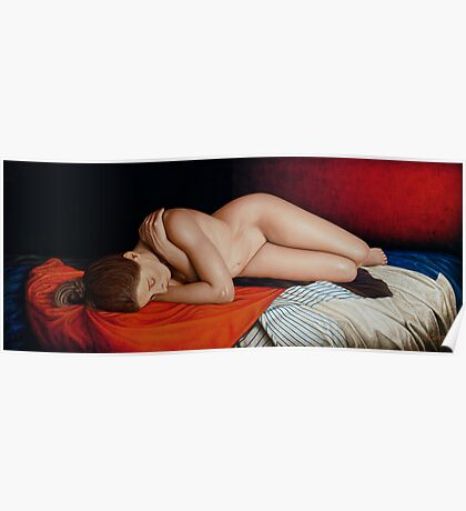 Sleeping Nude Poster