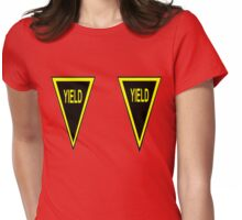YIELD! Womens Fitted T-Shirt