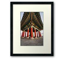 Korean Bell of Friendship Framed Print
