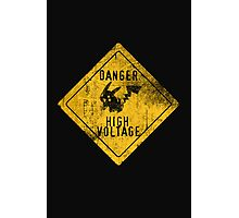 HIGH-VOLTAGE Photographic Print
