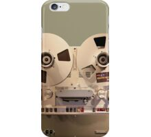 Audio Tape Recorder Deck iPhone Case/Skin