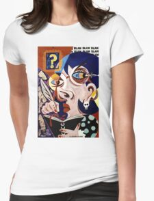 'The Art Critic' Womens Fitted T-Shirt