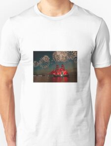 Sailing and fireworks T-Shirt