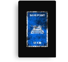 RESIDENT EVIL SAVE POINT Canvas Print