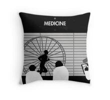 99 Steps of Progress - Medicine Throw Pillow
