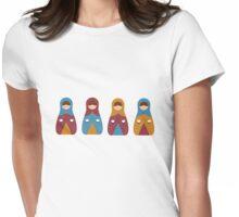 Matrioshkas 2 Womens Fitted T-Shirt
