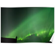 Aurora Borealis or The Northern Lights  Poster