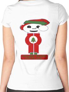 Jingle Balls Women's Fitted Scoop T-Shirt