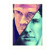 Watson and Holmes Art Print
