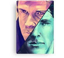 Watson and Holmes Canvas Print